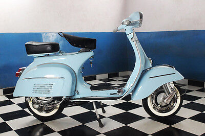 VESPA SCOOTER 1965 FREE SHIPPING TO DOOR Restored to Original Spec-motor scooter