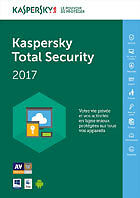 "Kaspersky Total Security 2017"" 3 Postes - 1 An (en téléchargement)"""