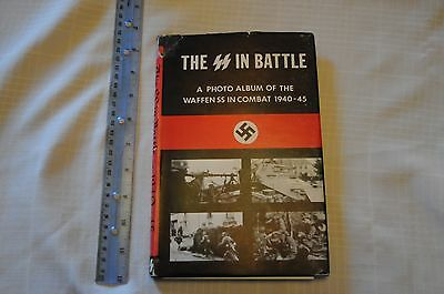 The SS in Battle a Photo Album of the Waffen SS in Combat 1940 - 45 by Mclachlen
