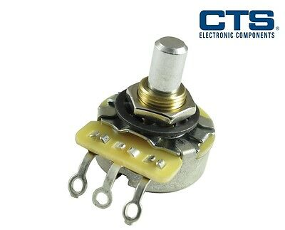 CTS Potentiometer, Solid Shaft (Various Resistances and Tapers)