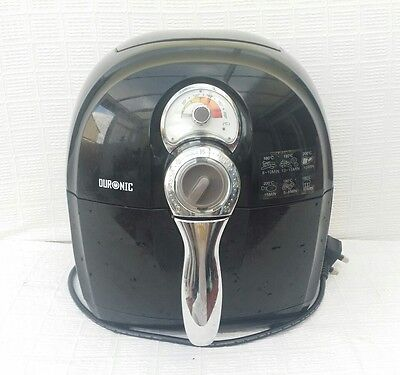 Duronic Healthy Oil Free 1500W Air Fryer Multicooker - Black