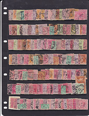 STAMPS..Australia..VICTORIA x 140 , all Queens & used