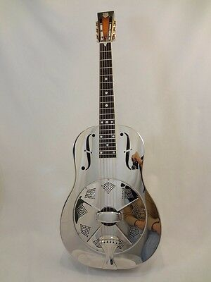 National Style N Guitar .GERMAN SILVER Body  with upgrades