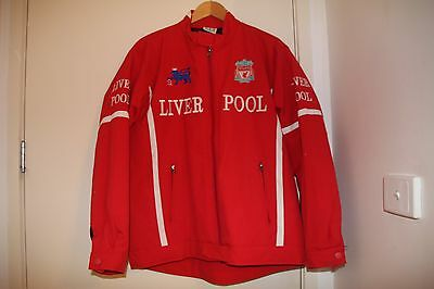 Unisex Liverpool Football Club Bomber Jacket Size Small