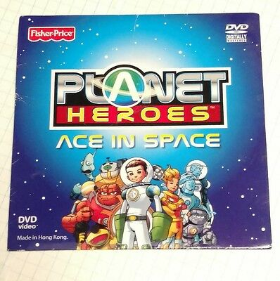 Planet Heroes DVD Ace In Space Fisher Price - very good dvd
