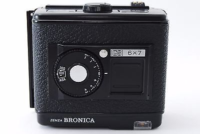ZENZA BRONICA GS 120 6x7 Film Back Magazine for GS-1 [EXCELLENT+++] k1441