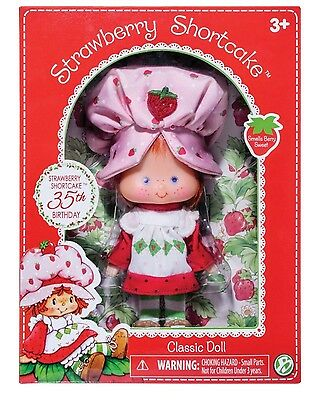Strawberry Shortcake Doll 35th Birthday Limited Edition Vintage Classic BNIB