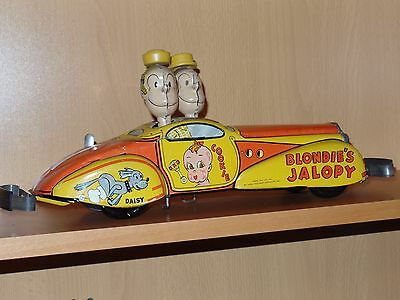 "Large 16"" Scarce Marx Tin Wind-up BLONDIE'S JALOPY !!! ... REDUCED !!!"