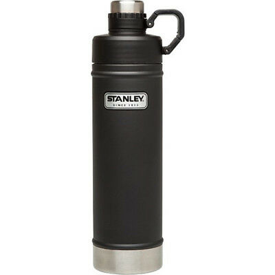 Stanley Classic Vacuum 750ml Unisex Accessory Water Bottle - Black One Size