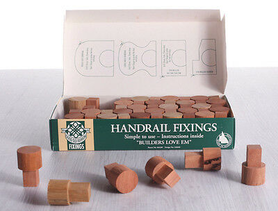 HANDRAIL FIXINGS Qty 50 * 32mm Timber Tenons * made in QUEENSLAND
