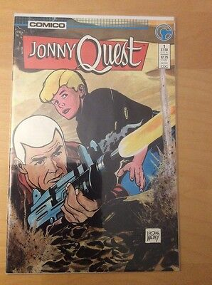 Jonny Quest 1, Vf+, 1St Print, 1St Appearance, Comico, 1986