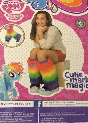 My Little Pony  Rainbow Pony Hooves Leg Warmers Cutie Mark Magic NWT