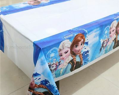 Frozen Disposable Tablecloth. Birthday party decorations. Buy Bulk & Save
