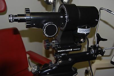 BAUSCH & LOMB B&L Keratometer Ophthalmometer Good Working Condition