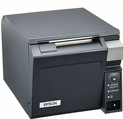 Epson TM-T70 (POS) USB Thermal Receipt Printer +Power Adaptor