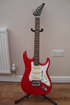 Strat Style Rare 1980's Electric Guitar.