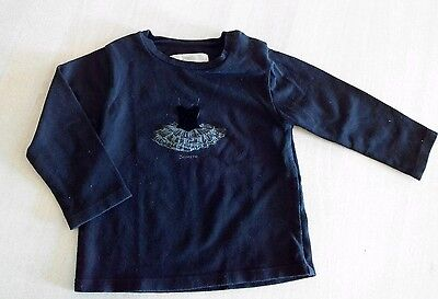 T-shirt manches longues fille 12m Repetto