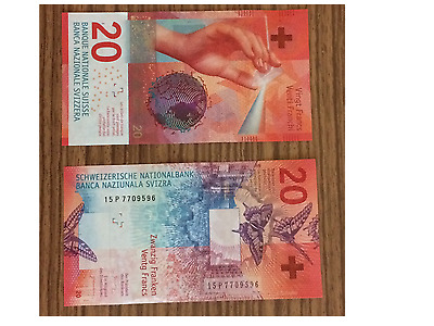 Switzerland 20 Francs 2017 P-New Unc !!!available!!!