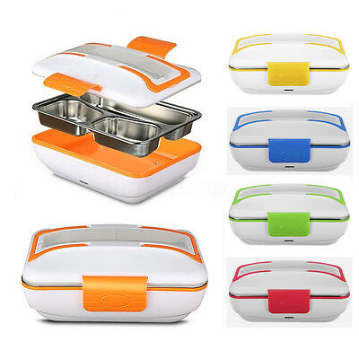 12V/110V/220V Portable Electric Heated Food Warmer Container Lunch Meal Lunchbox