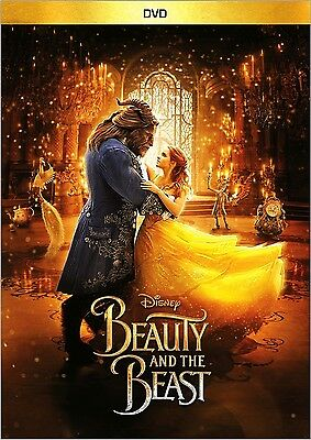 Beauty And The Beast(Dvd,2017) Fantasy, Brand New!!