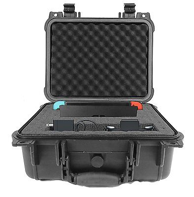 CASEMATIX Deluxe Nintendo Switch Hard Carry Case For Video Game Console And w/ ,