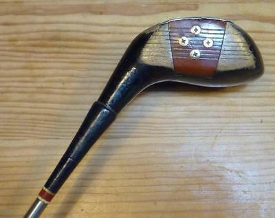 Vintage BOIS 3 golf club JOHN LETTERS made in SCOTLAND