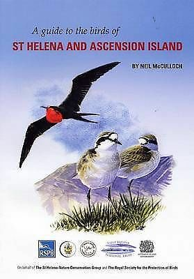 A Guide to the Birds of St Helena and Ascension Island by Neil McCulloch (Paperb