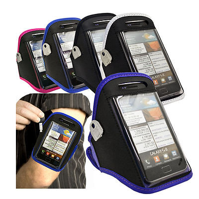Universal Sport Gym Running Cycling Armband Phone Case Holder Fits Many Models