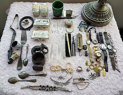 job lot of vintage and collectable items