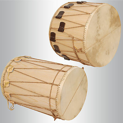 New Medieval Marching Drums w/ Snares and Sticks - Marching Medieval Drum