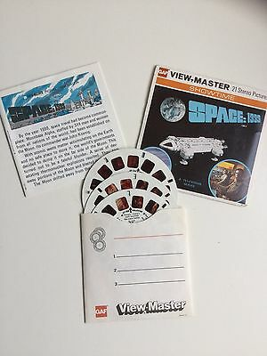 Viewmaster Reels x3 Space 1999 - Produced In 1975