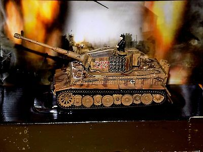 Tiger I German Army #222 Normandy D - Day 1944 Unimax Forces Of Valor 85804 1:72