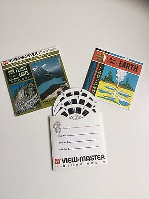 Viewmaster Reels x3 Our Planet Earth 1967