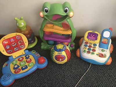 Baby Toys Playskool & Vtech Learning Phone, Laptop & More
