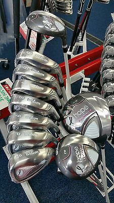 Wilson 2017 Hope Golf Set, Rh, Ladies Graphite Flex - Set Only!