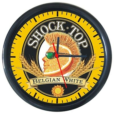 Shock Top Cold Drinks Beverage Beer Logo Sign Round Wall Clock