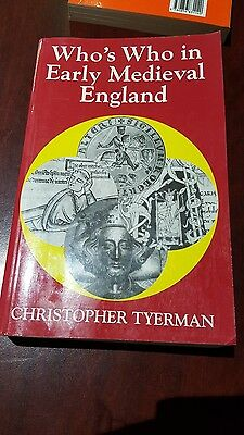 Who's Who in Early Medieval England by Christopher Tyerman (Paperback, 1996)
