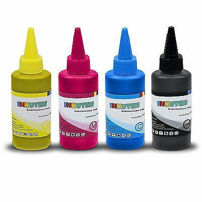 INKUTEN 4x100ml Premium Sublimation ink for Ricoh SG 3110 2100N 3100 3100SNW