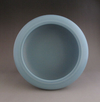 Large Chinese Monochrome Glaze Porcelain Brush Washer with Mark H152