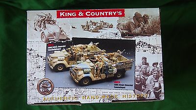 King & Country Lrdg 30 Cwt Chevrolet Camouflaged Truck  1/30 Ea024