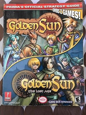 Golden Sun/Golden Sun: The Lost Age Prima's Official Strategy Guide Nearly Mint
