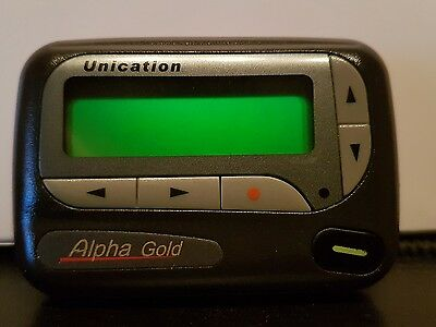 Unication Alpha Gold pager