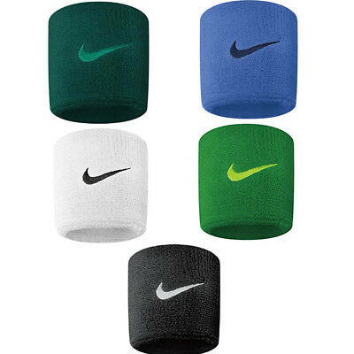 1 Pair Pack Nike Swoosh Wristbands Sweat bands Tennis Badminton Squash Sports