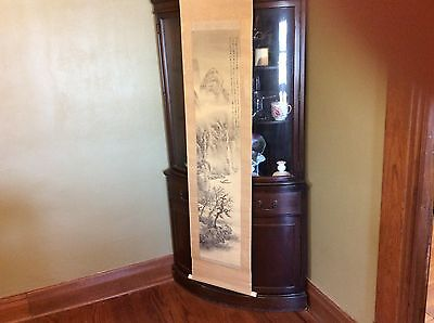 Antique Japanese Art Scroll