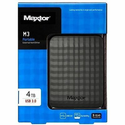 """Maxtor M3 Disque Dur Externe 4To 2.5"""""""