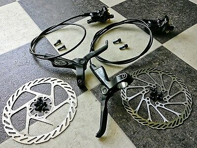 Avid Elixir 1 front and rear brakes with 160mm Rotors