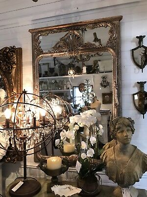Magnificent Rare French Style Vintage Mirror