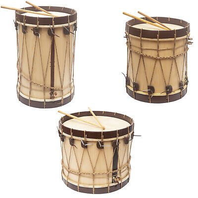 New Renaissance Marching Drums w/ Snares and Sticks - Marching Renaissance Drum