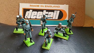 Britains Deetail German Infantry Complete set, 2nd Edition # 7380