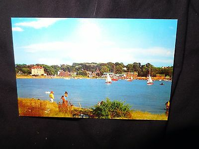 Bembridge, Isle of Wight  from St Helens Beach Boats  1960s  postcard 1-99